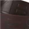 Side view of Crimescene Belt (Brown on Brown)