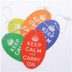 five pack of 'Keep Calm' Air Fresheners