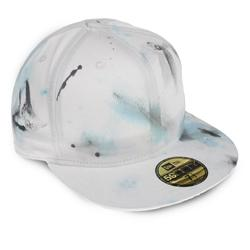 Front pic of 'FilthyDirty' New Era 59FIFTY Baseball Cap, Black on White