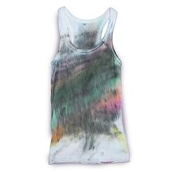 Front of FilthyDirty Racerback vest by Yes No Maybe