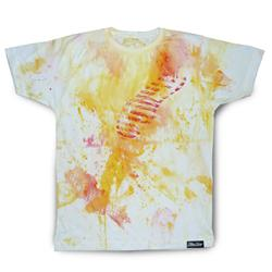 Front pic of 'FilthyDirty' Men's T-Shirt, Fiery on White