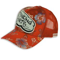 Buy this Cap: Design: Thinking Hurts; Colour: Multicolour on Red; See detailed product info and choose sizing options on next screen