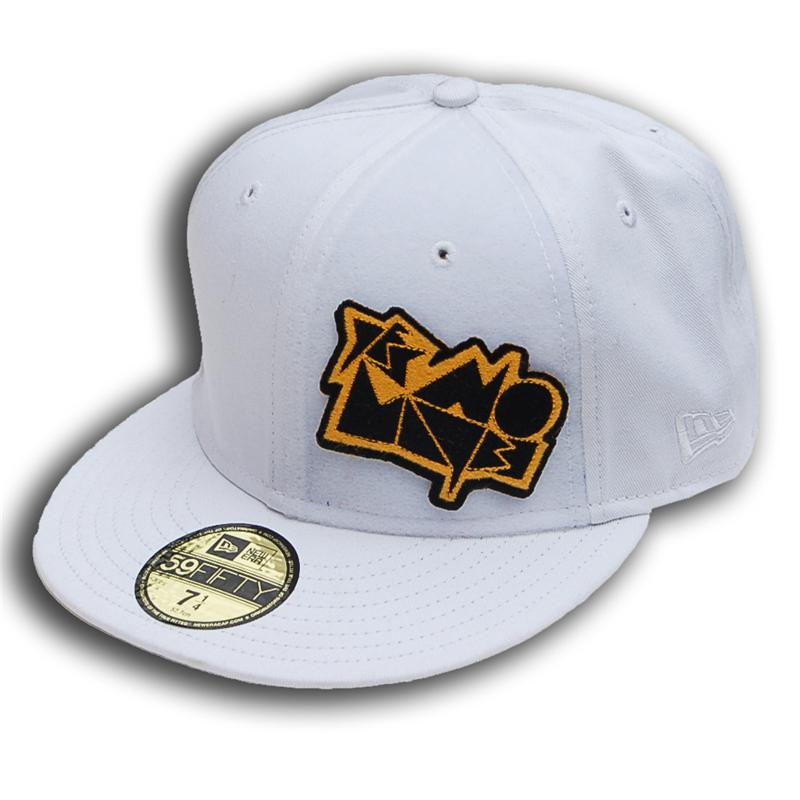 c3af67f0fad ... Side view of Dwight New Era 59FIFTY Baseball Cap (Blue on White)