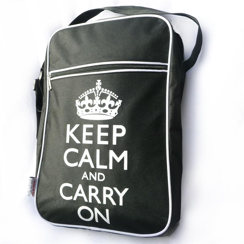 YNM Keep Calm Flight Bag
