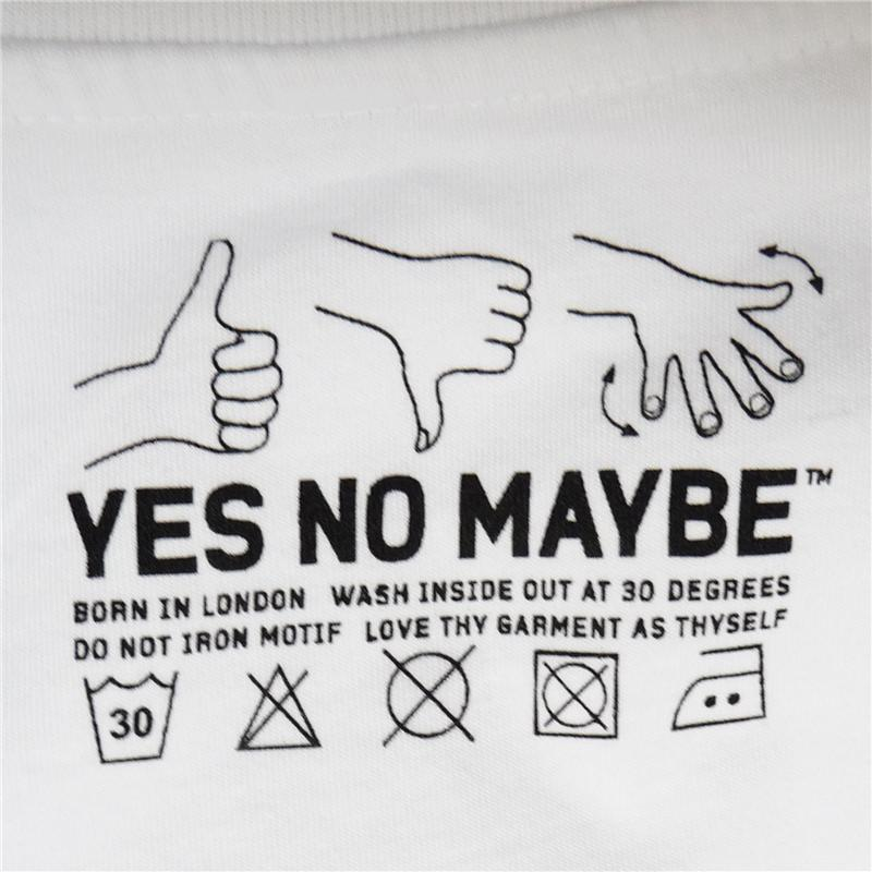 Sicfuk Men S T Shirt Yes No Maybe Fresh Original