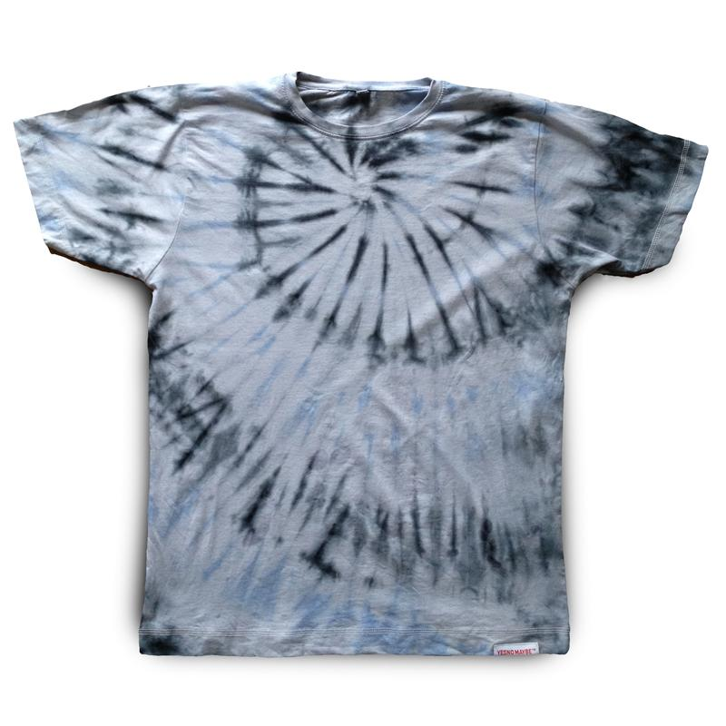 39 tie dye 39 men 39 s t shirt yes no maybe fresh original for Black and blue tie dye t shirts