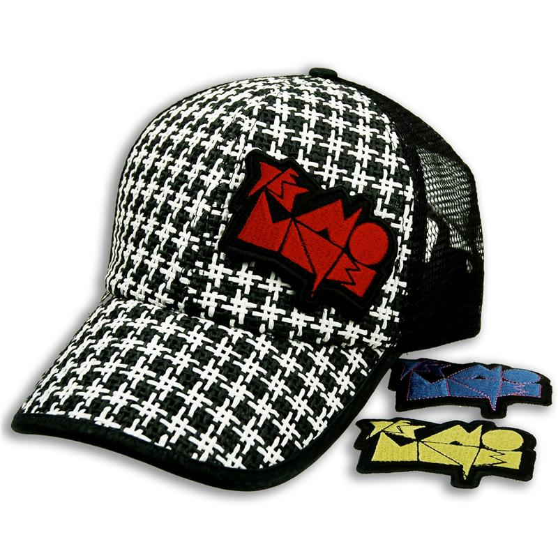 Front of Dogtooth Rocker Patch Cap